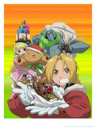 Winry, Al, and Ed - Fullmetal Alchemist