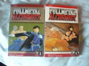 Fullmetal Alchemist volumes 3 & 4