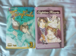 Fairy Cube volume 3 and Captive Hearts volume 1