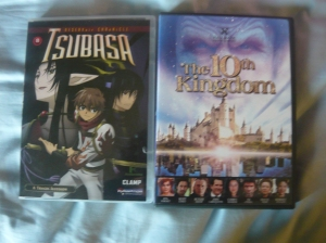 Tsubasa Chronicle volume 8 and The Tenth Kingdom