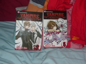 Vampire Knight volumes 2 & 5