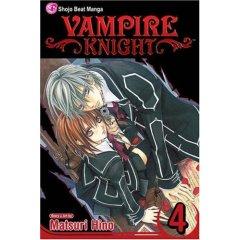 Vampire Knight Volume 4